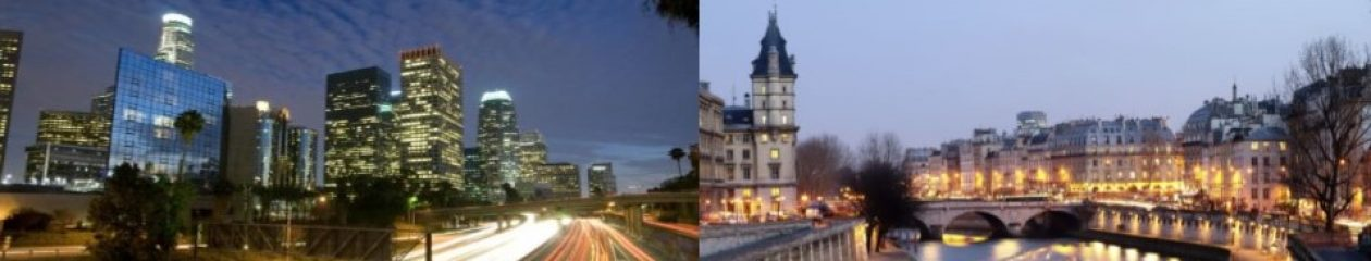 Balades de LA à Paris