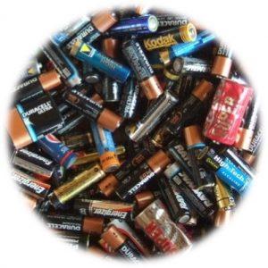 Collecte des piles usagées