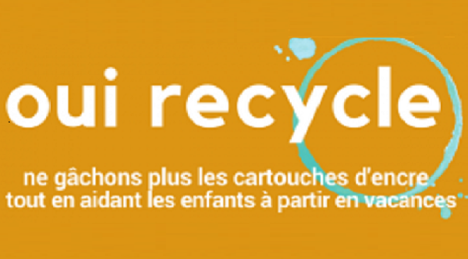 OUI RECYCLE : une collecte de cartouches d'imprimantes