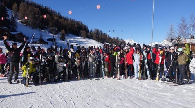 Voyage au ski 2018 : LA PLAGNE