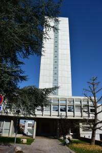 le bâtiment des Archives départementales de Saône-et-Loire à Mâcon.