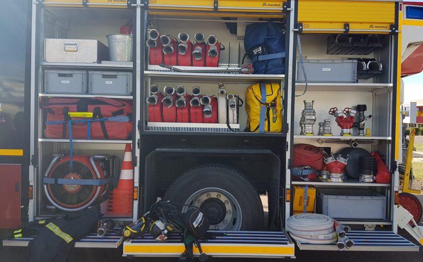 La journée des pompiers au collège