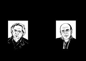 Les auteurs croqués par Didier Bontemps