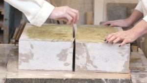 Mains en taille de pierre