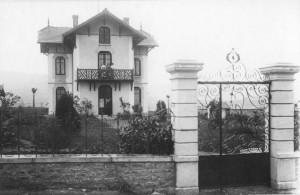 Villa de Pierre Dameron, premier directeur de la Prat's