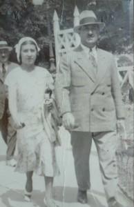 Lucie et Georges Piquard