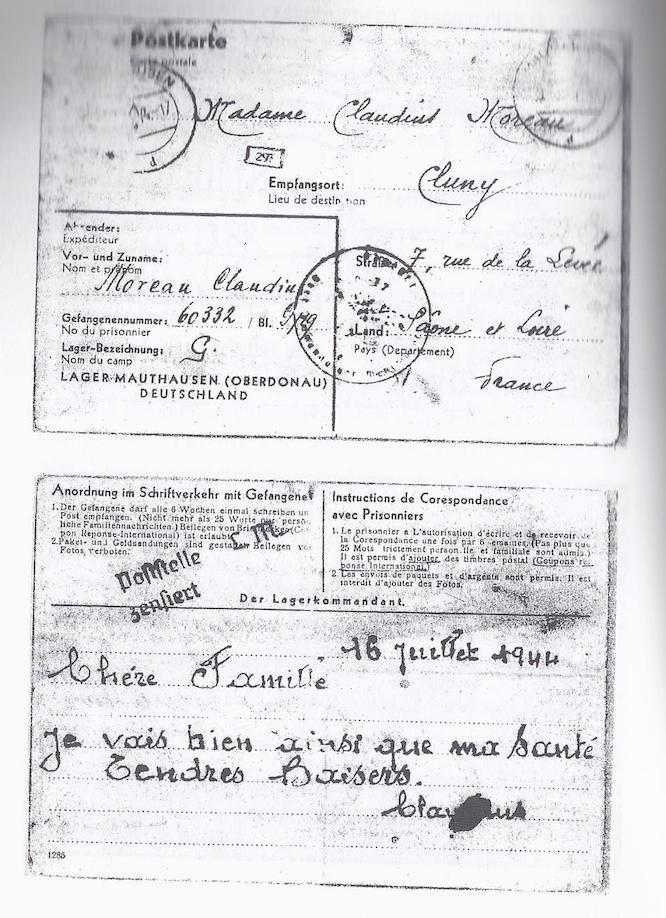 lettre 2 Mauthausen