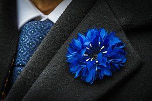 Le Bleuet français, fleur du souvenir. C. TRUONG-NGOC