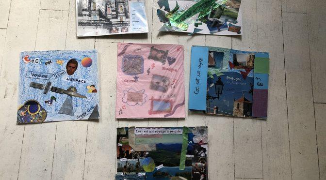 «Ceci est un voyage à …»  Atelier d'arts plastiques