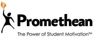Promethean Logo_BlackwFlame_TPoSM_TAG_CGFont_CMYK_0714v1